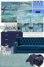 Come Sail Away:  Monochrome Interior
