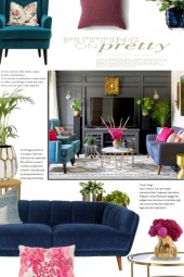 Home Decor: Jewel Tones