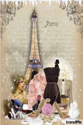Chic and elegant winter in Paris