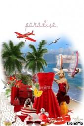 Sanjam o odmoru na nekom Karipskom otoku...