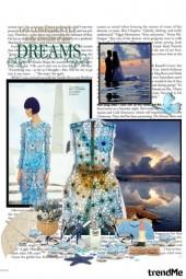 Romantic blue lace