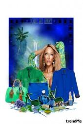 Plavo zelena fantazija
