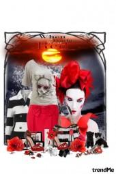 Crveno-crno-bijelo