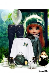 Carven doll
