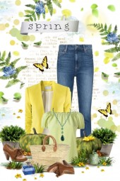 Spring flowers & colors