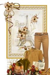 Autumn Paris Pant set