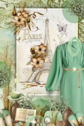Mint Long Sleeve - Vintage