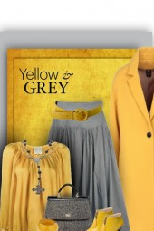 grey and yellow
