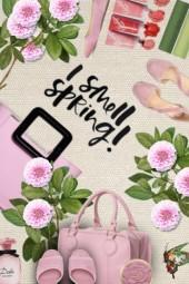 spring pink bag set