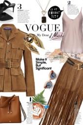 Vogue brown