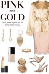 Take 1 make 5 - pink and gold