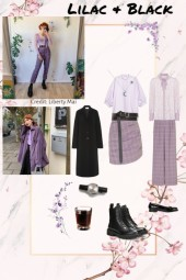 Lilac and Black