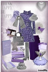 Grey in Violet