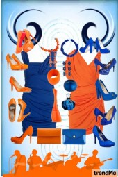 Opposite Blue&Orange