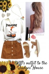 (Y/N)'s outfit to the judges' house