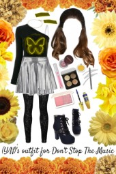 (Y/N)'s outfit for Dont Stop The Music