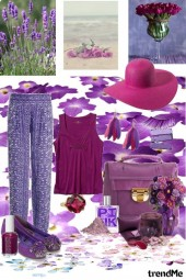 Today I want a lot of purple.