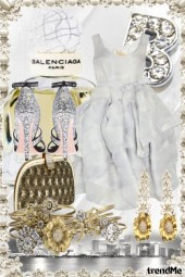 Balenciaga and Vivienne Westwood Gold and Silver