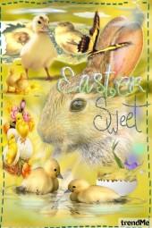 Sweet Easter, my friends!