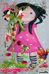 Doll... I like you from within my heart
