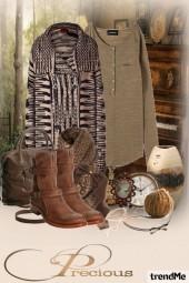 Keep calm and wear brown!