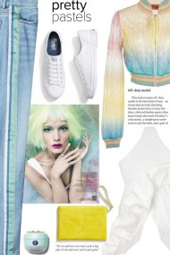 Pretty Pastels and white