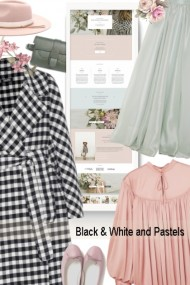 Black &White and Pastels