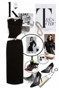 Black dress 5-8