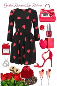 Garden Romance Date for Valentines