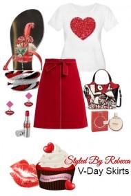 Valentines Day Skirts