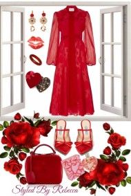 Valentines Day Style In Red