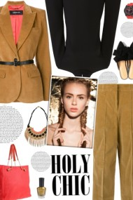 How to wear a Belted Co-Ord Blazer & Trouser!