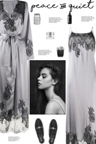 How to wear a Straight Fit Lace Panel Nightdress!