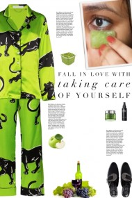 How to wear a Neon Printed Pajama Set!