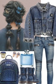 ~ * DENIM OUTFIT ~ *