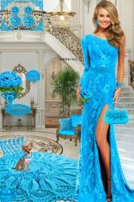 Серьги. Принцесса. Голубой 11