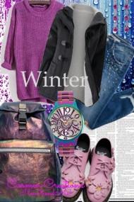 Journi's College Winter Semester Outfit