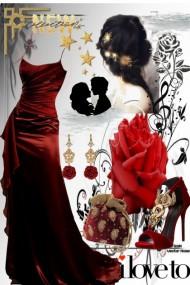 Exquisite dark red