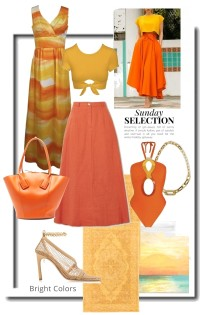 Bright Colors for Sunday