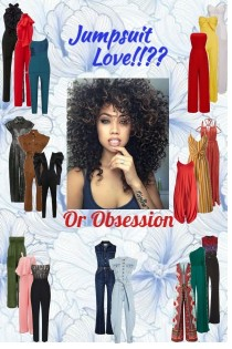 Jumpsuit Love--Or Obsession??
