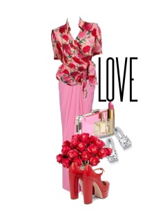Love in Pink and Red