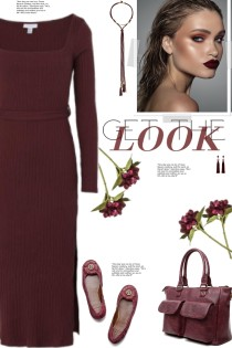 How to wear a Ribbed Long Sleeve Dress!