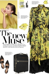 How to wear a Satin Printed Midi Dress!