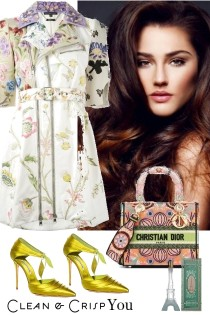 FLORAL PRINT DRESS ~*~ 9262021