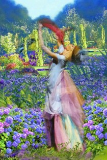 Dancing on the meadow