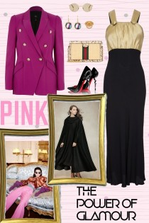 Pink glamour