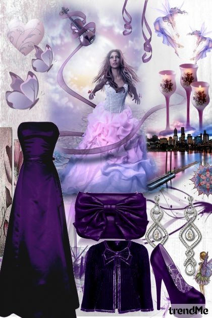 Purple Passion- Fashion set