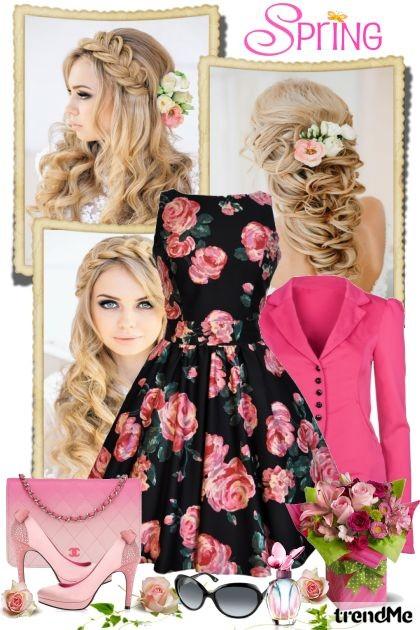 Floral Spring- Fashion set