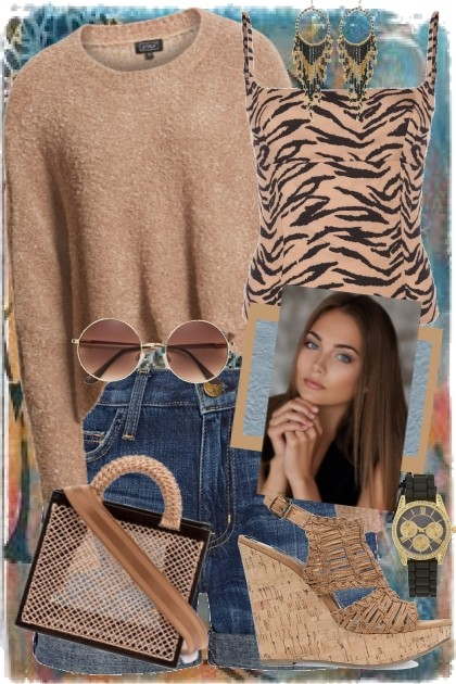 Animal Print- Fashion set