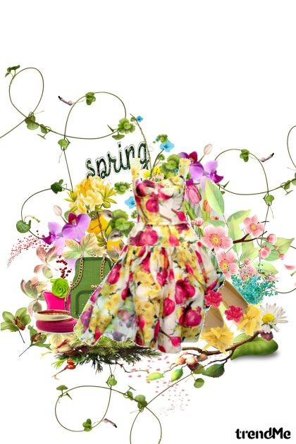 SpringLy- Fashion set